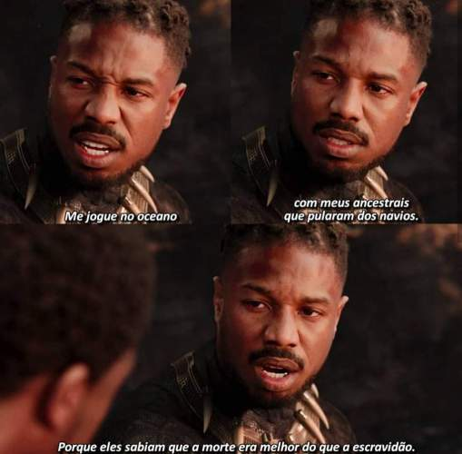 Chadwick Boseman Cena Killmonger 509x500, Fatos Desconhecidos
