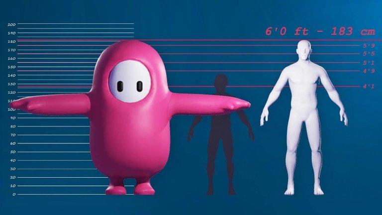 Página oficial revela anatomia assustadora das jujubas de Fall Guys