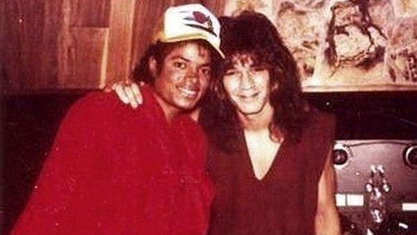 Eddie Van Halen gravou um dos solos mais icônicos de Michael Jackson em segredo.