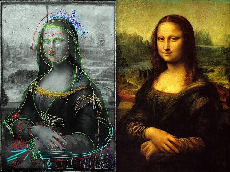 Esboço incrível mostra o que está por trás da Mona Lisa