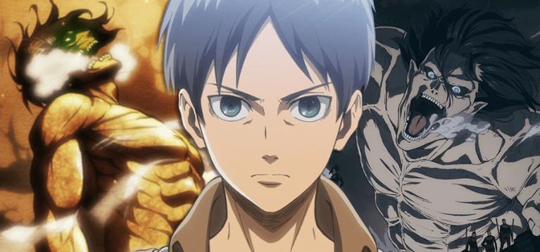 Mangá de Attack on Titan apresenta nova forma titã de Eren