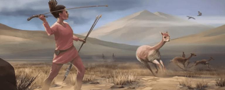 Sepultura de 9 mil anos é achada no Peru e mostra que as mulheres também praticavam a caça