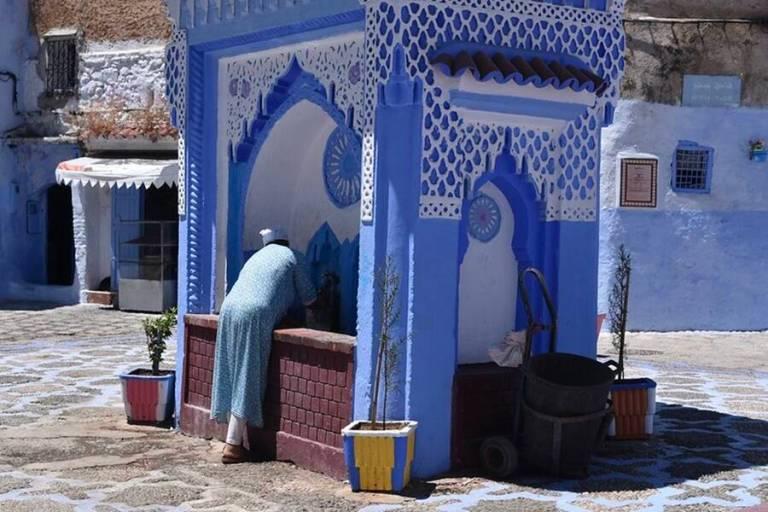 Conheça a misteriosa cidade azul do Marrocos