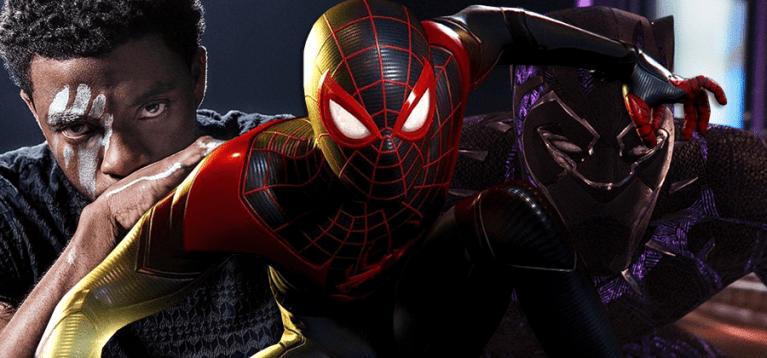 Novo jogo do Homem-Aranha conta com tributo a Chadwick Boseman