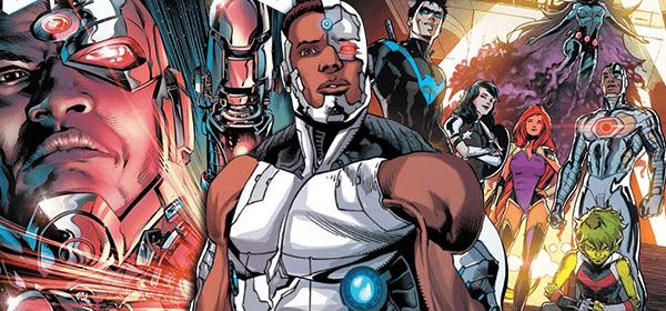 Ciborgue retorna para os Jovens Titãs após uma década na Liga