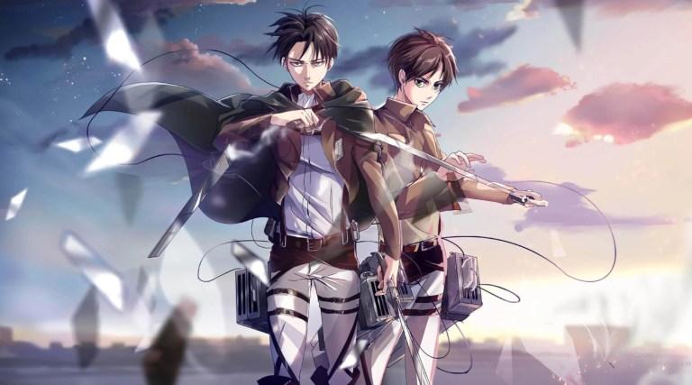 Mangá de Attack on Titan receberá republicação colorida no Japão
