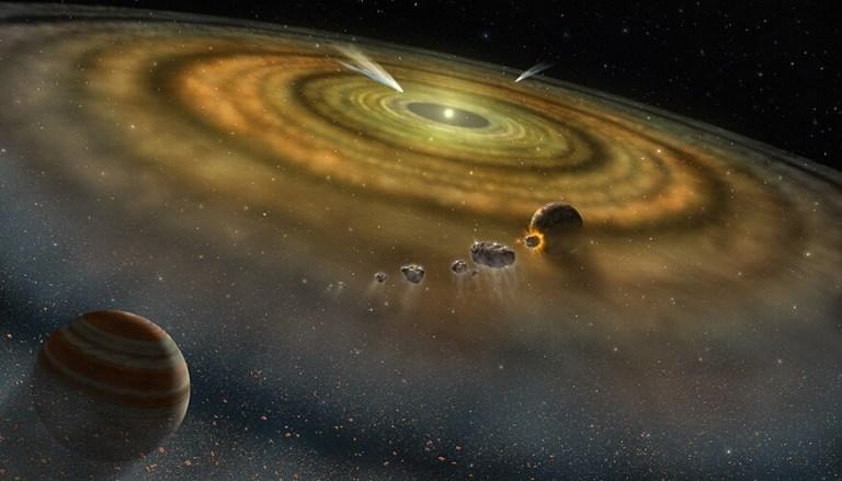 Segundo estudo, Sistema Solar se formou em menos de 200 mil anos