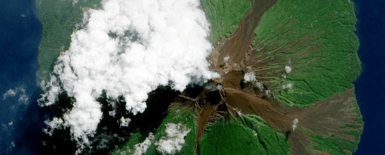Drones estão sendo enviados para os vulcões para fins científicos