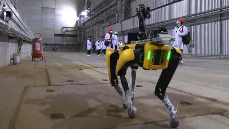 O que o robô da Boston Dynamics descobriu em Chernobyl?