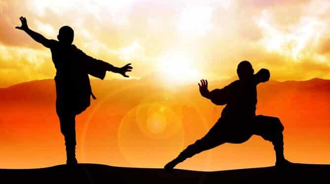 Mestres do kung fu virilha de ferro lutam para preservar a modalidade