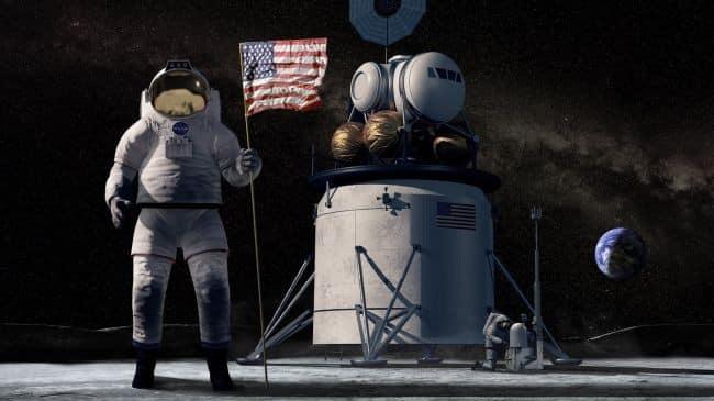 NASA lança plano detalhado para base lunar em 2024