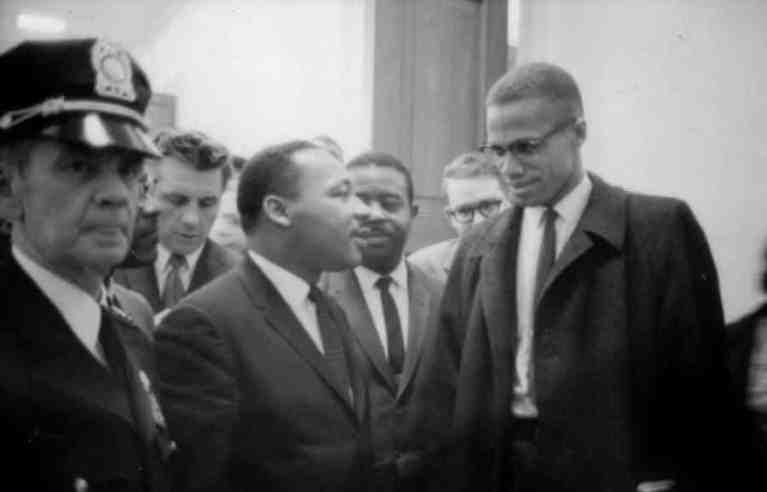 O dia em que Malcolm X e Martin Luther King se encontraram pela primeira vez