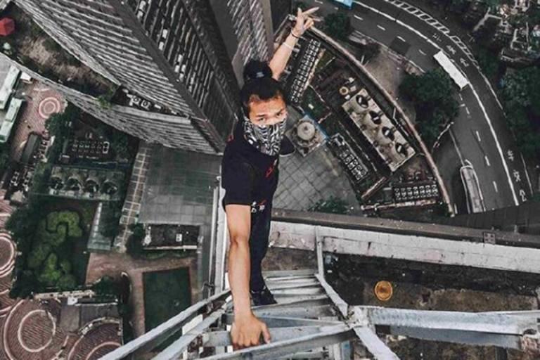 Wu Yongning, o aventureiro que caiu de um arranha-céu