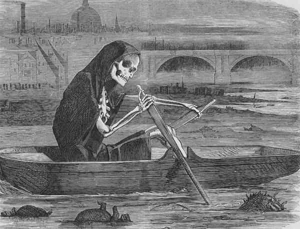 Como era evitado o mau cheiro das cidades no passado?