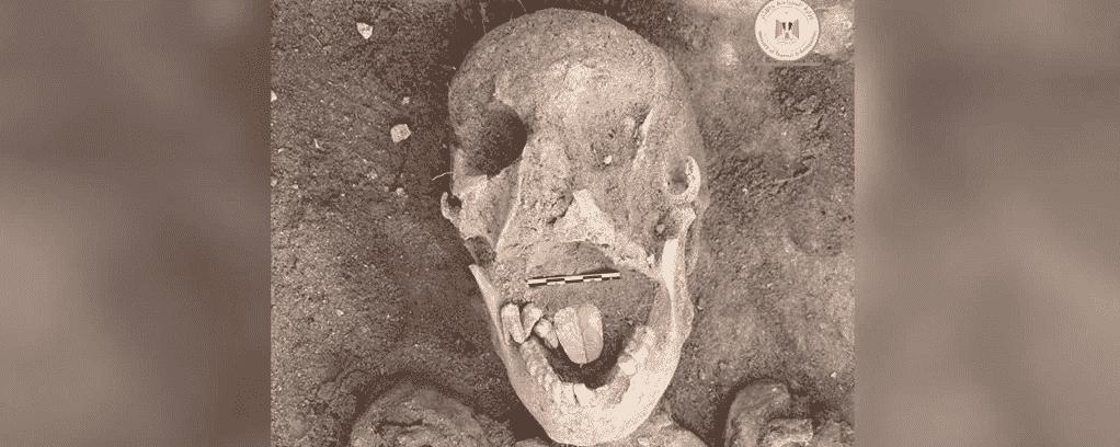 Múmia de dois mil anos com uma língua de ouro foi encontrada no Egito