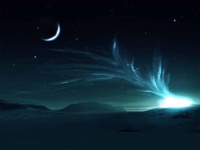 Essa foto de tirar o fôlego no Havaí mostra dois fenômenos raros no céu