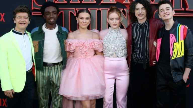 Como estão os 5 atores principais de Stranger Things atualmente