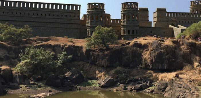 Assim eram alguns castelos asiáticos antes de virarem ruínas