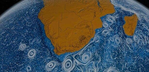 Velocidade das correntes oceânicas está mudando de uma forma importante