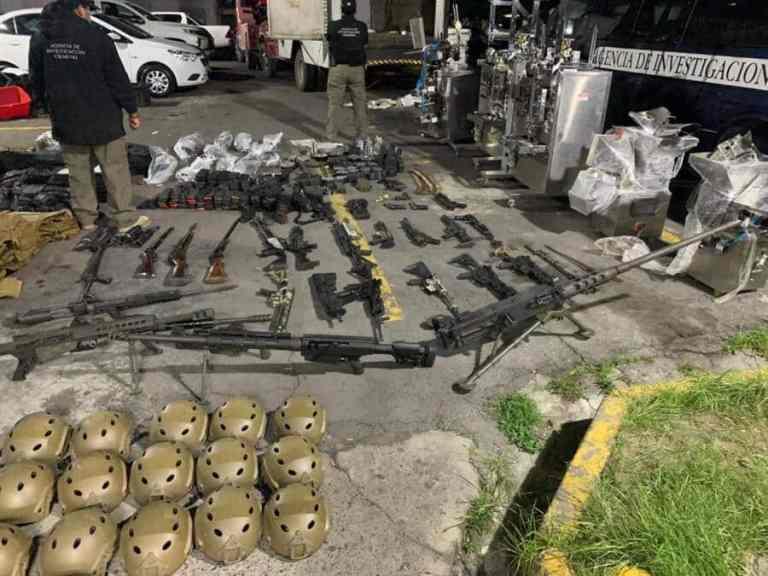 Cartel mexicano utiliza eBay para comprar equipamentos militares