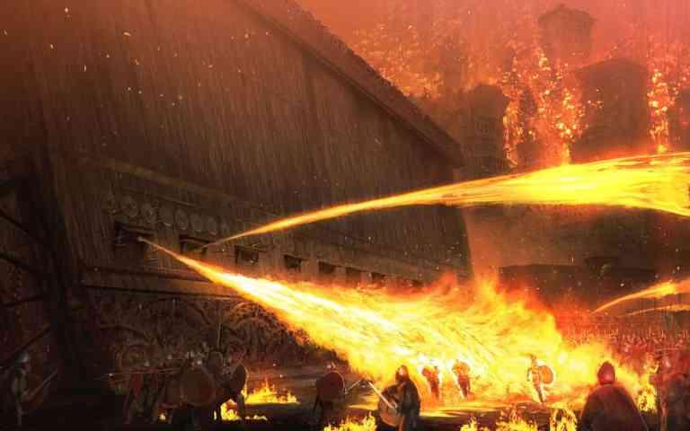 Fogo Grego, a arma incendiária mais misteriosa de todos os tempos