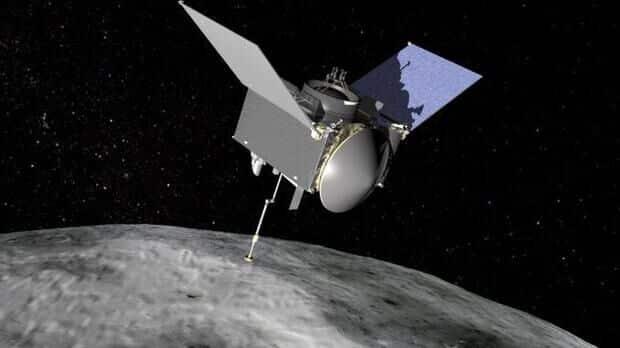 A espaçonave OSIRIS-REx retorna à Terra com amostras de asteroides