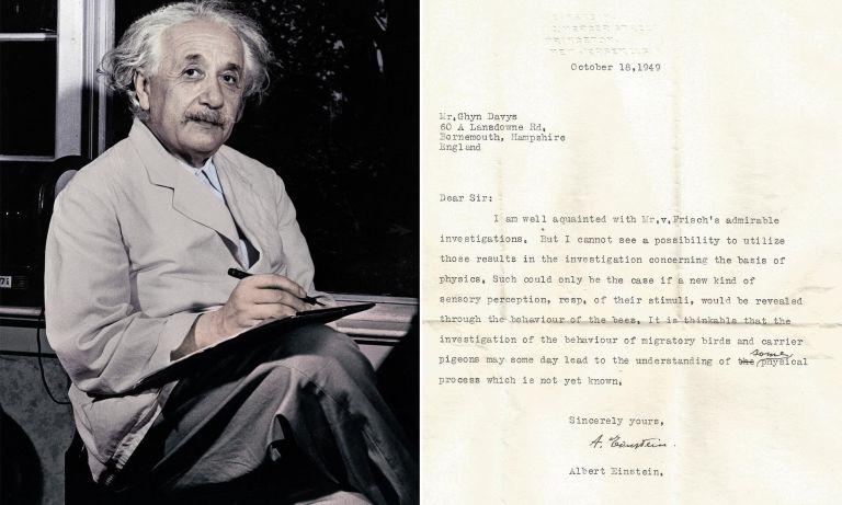 Essa carta que estava perdida há muito tempo mostrou que Einstein previu a descoberta dos super sentidos