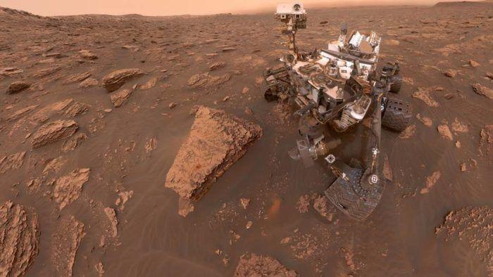 Rover da NASA encontra possíveis remanescentes de compostos orgânicos em Marte