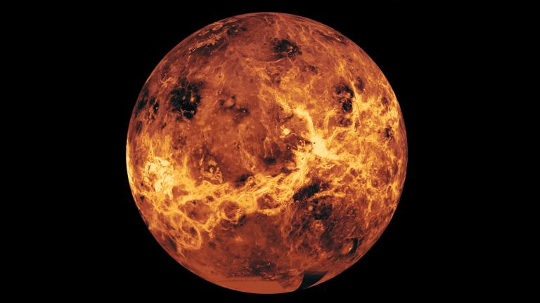 Característica planetária inesperada foi encontrada em Vênus
