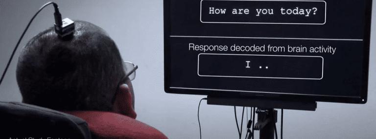 Essa tecnologia transformou pensamentos de um homem paralisado em palavras