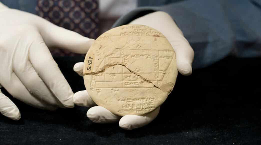 Esse fragmento de argila de 3700 anos é o exemplo mais antigo de geometria aplicada