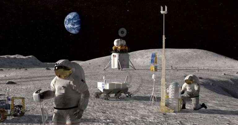 SpaceX diz que pode leva humanos de volta a lua antes de 2024