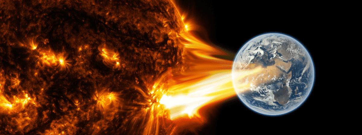"""Próxima tempestade solar pode causar um """"apocalipse da internet"""" global"""