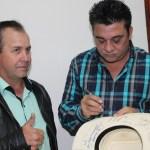 Cezar e Paulinho em Nova Odessa no pesqueiro Feltrin fatos e eventos