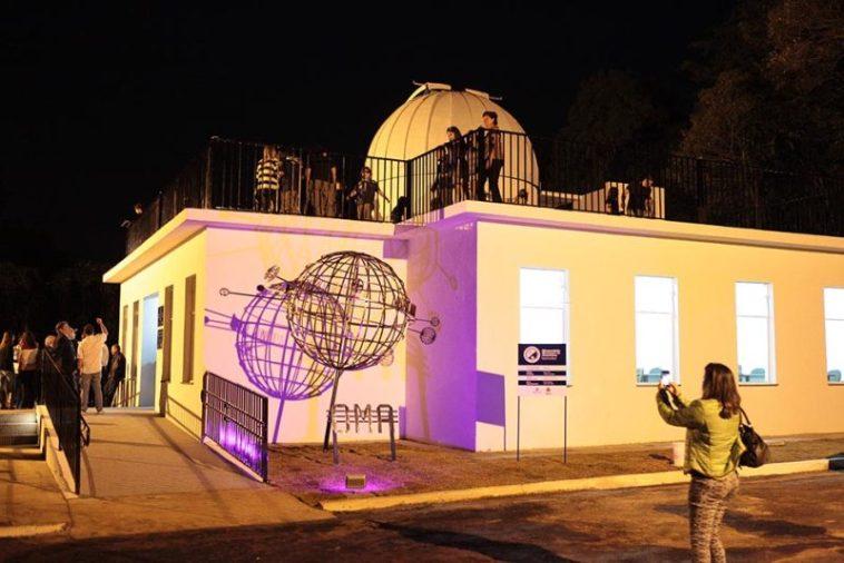 OMA celebra 32 anos com novo telescópio