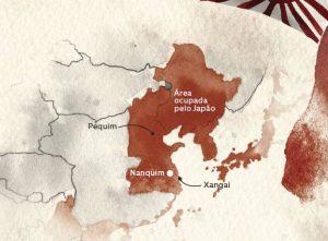 Mapa Nanquin nova odessa fatos e eventos