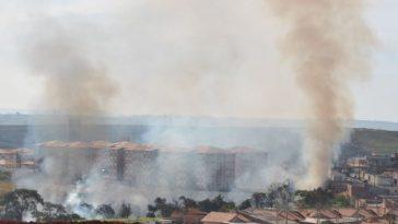 Mais um foco de incêndio fatos e eventos