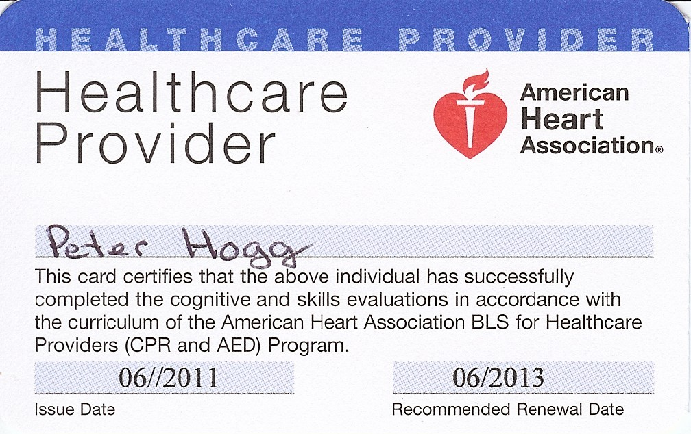 Cpr Card Template Aha Cpr Card Template American Heart