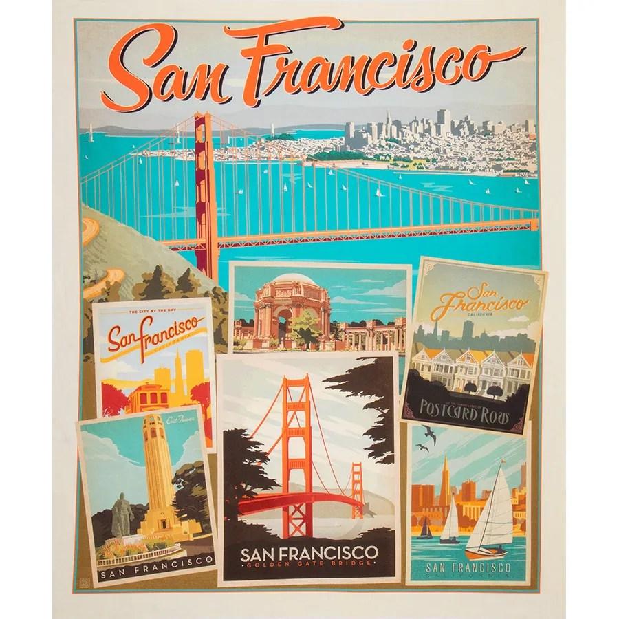 destinations san francisco poster panel sku p10021 sanfran
