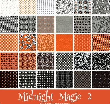 Midnight Magic II Yardage | April Rosenthal for Moda Fabrics