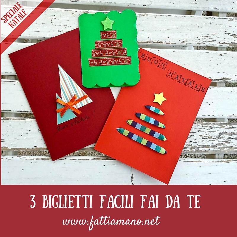 Arriva Natale Ecco Tre Biglietti Fai Da Te Con Lalbero