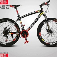 26inch 21speed 50mm fat tire DiscBrake shimano mountain bike Road racing Bicycle