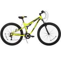 "27.5"" Huffy 56946 Men's 3.0 Volt Carnage Mid-Fat Plus Tire Mountain Bike, Yellow"