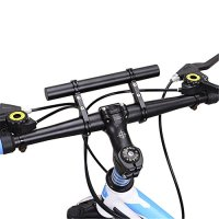 West Biking Bicycle Handlebar Extender, Durable Lightweight Bike Flashlight Headlamp Speedometer Phone Holder Bicycle Accessories Mount