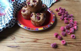 muffin vegan ai lamponi