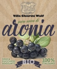 Puro succo Aronia BIO 100% italiano (conf.3litri)