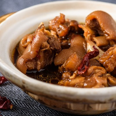 Braised Spicy Pork Leg-鹵猪腳