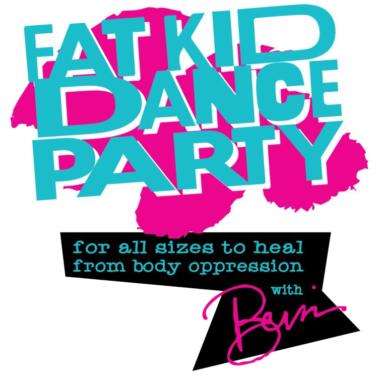 Fat Kid Dance Party Logo