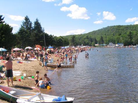 Plage Lac-aux-Sables