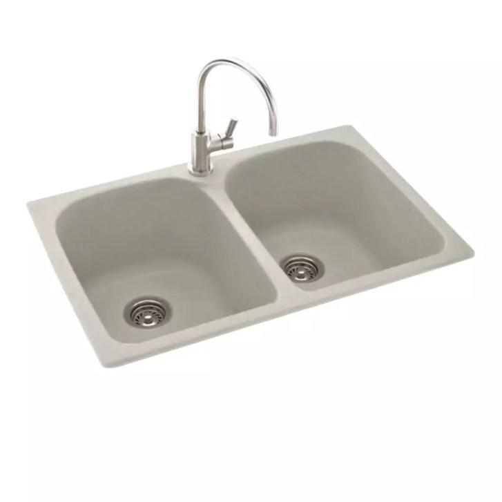 Swanstone Kslb 3322 Glacier Kitchen Sink Double
